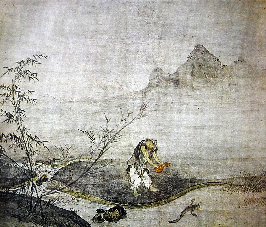 日本漢画の祖、如拙