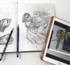 デジタルでイラストを作成する方法-1